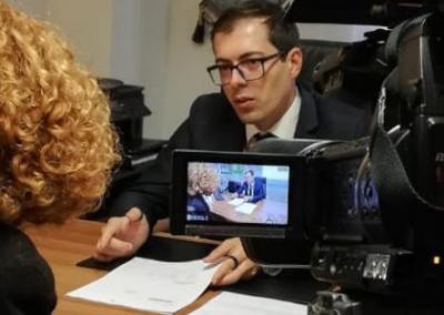 Intervista su La7 a DiMartedi
